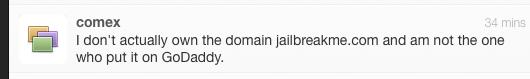 comex twitter dominio