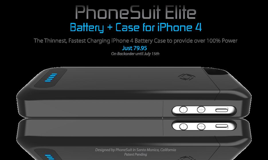 Ampliar bateria iphone PhoneSuit