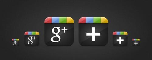 iconos google+