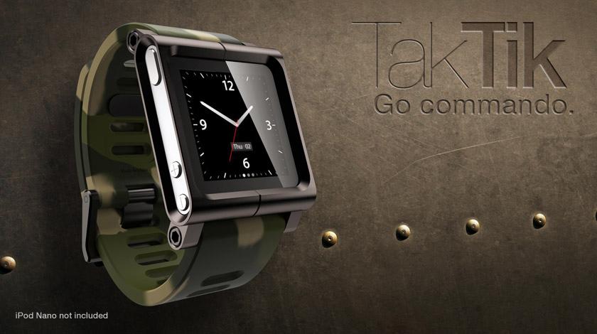 Lunatik TakTik iPod nano reloj