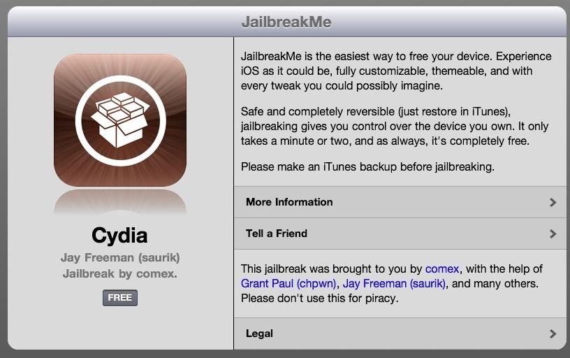 Jailbreakme ipad 2 iphone libre