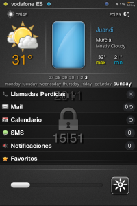 lockscreen ReviDX tema iphone
