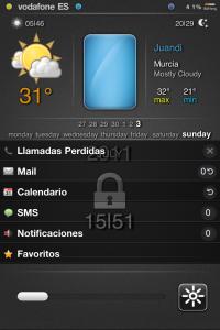 lockscreen ReviDX tema iphone