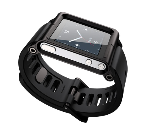 Lunatik Black iPod nano reloj