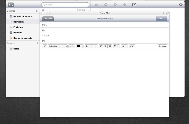 icloud beta mail