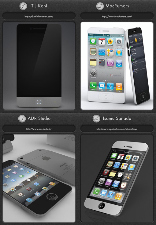 iphone 5 concepts 4 magníficos