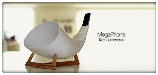 MegaPhone amplifica sonido iphone ipod