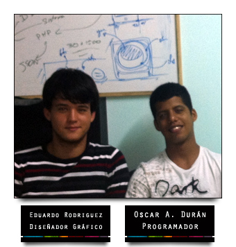 Oscar y Eduardo creadores de Universal TV