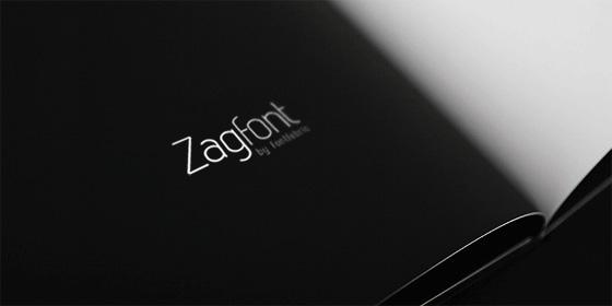 ZAG tipografía gratis