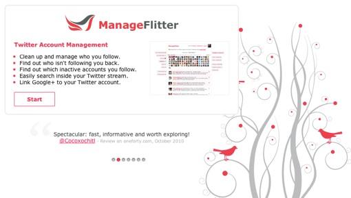 ManageFlitter - Twitter Account Management - Over 426 Million Unfollowed