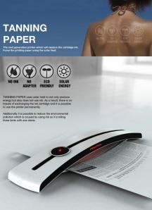tanning printer