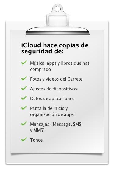 Apple - iCloud - Guarda y haz copias de seguridad de tu contenido en iCloud.