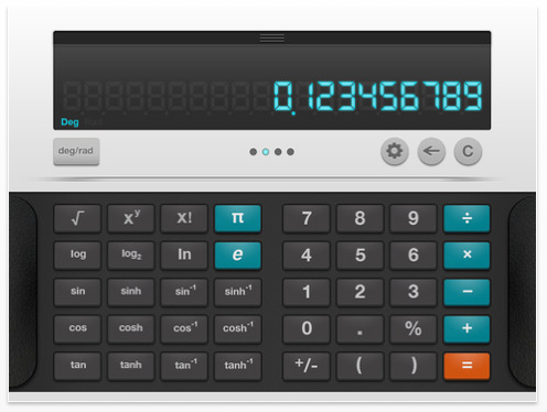 calculadora científica - Blue calculator